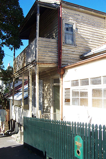 Balmain house before
